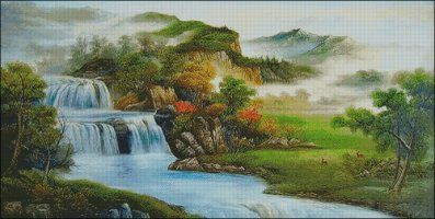 A Mountain Stream - Large