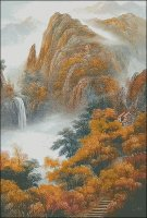 Autumn in the Mountains - Large