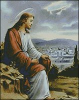 Christ Looking over Jerusalem