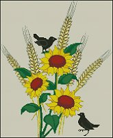 Crows and Sunflowers