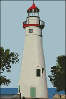 Marblehead Lighthouse Ohio USA